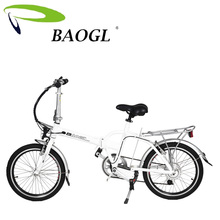 2016 New Folding E Bike Folding Electric Bike Mini Bicycle / Foldable Ebike 250W