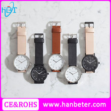 24k rose gold watches accept custom logo lady watch excellence quartz watches with changeable straps