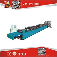 HERO BRAND Bottom Middle STANDING Three Side Seal Bag Making Machine