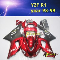 High Quality ABS Injection ABS plastic body cover for YAMAHA YZF R1 98 99