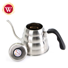 1.2 L Pour Over Coffee Kettle with Built-in Thermometer -Stainless steel Gooseneck Coffee Drip Kettle