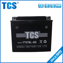 High Quality Maintenance free Motorcycle Batteries YTX7-BS 12v 7ah