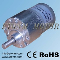 Electric DC Gear Motor 12v Electric Motors For Automatic Cars Window