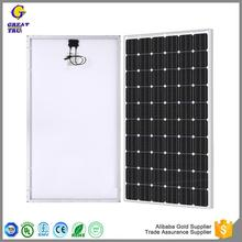 Hot selling price per watt monocrystalline silicon solar panel free shipping solar panel export solar panel