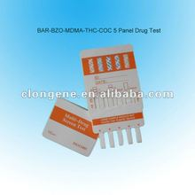 In vitro diagnostic DOA urine drug test