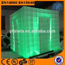 Wedding Party Used Rental Inflatable Photo Booth Cube Tent With Led For Sale