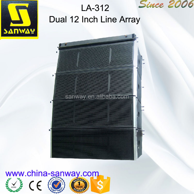 LA-312 Dual 12'' Pa Line Array Speaker Cabinet