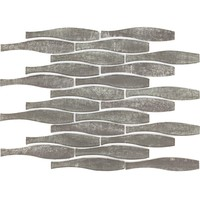 Grey Crystal Glass Mosaic