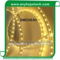 High lumen SMD5630 flexible led strip light 1950~2250lm/Meter