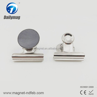 Best quality strong magnets magnetic hook with clip in china