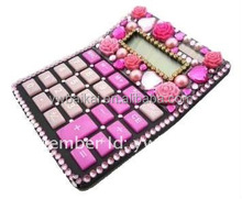 Bling crystal scientific jeweled calculator