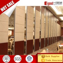 Acostic room divider telescopy partition foldable wall for davao
