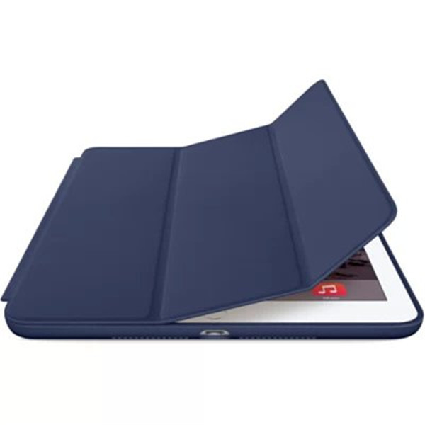 Ultra Flip stand three -fold Smart cover for apple ipad air 2 leather case