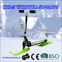New Arrival Kids 2in1 Kick Snow Scooter Board for Both Winter and Summer