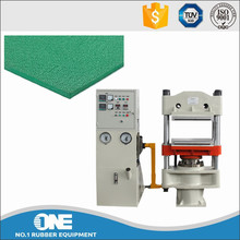 Long life rubber mat hot vulcanizing machine / rubber curing press machine