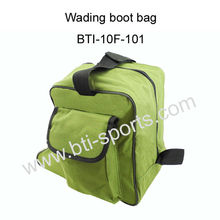 Waterproof fly fishing wading boot storage bag