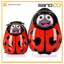 2016 3D children trolley school bags cute trendy trolley luggage