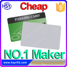 Standard CR80 Size Free Samples Blank PVC ID card