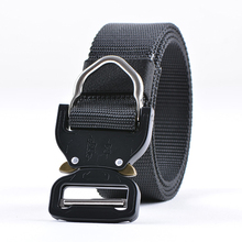 Factory Wholesale outdoor military nylon canvas webbing army tactical belt