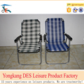 Factory customized outdoor fabric folding beach chair made of nets