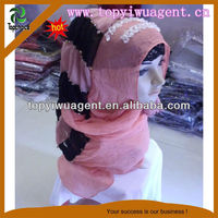Fashion hijab scarf with beads decoration
