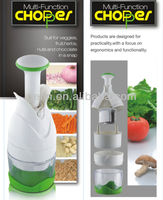 plastic vegetable chopper manual onion cutter