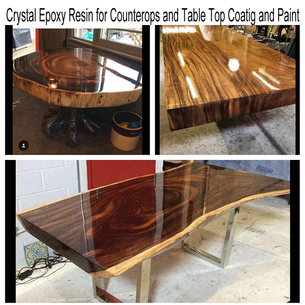 Epoxy Resin For Wood Table And Furnitures Coating