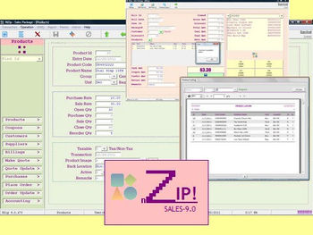 NZip Sales Software