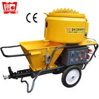 ISO9001:2008 JP40-L automatic mortar spray plaster pump for cement, fireproof, mortar