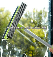 Car window cleaner squeegee