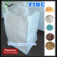 Yantai factory price polypropylene pp woven Flexible Intermediate Bulk Containers FIBC