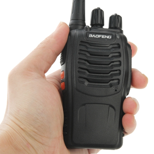 Promotion BAOFENG BF-888S Portable CB Radio Walkie Talkie, UHF FM Transmitter 5W 16CH Radio FM Transceiver