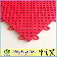 temporary PP Interlocking sports flooring waterproof interlocking flooring