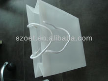 Plastic Material and plain or printed Surface Handling carrier bags