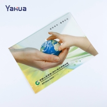 Wholesale plastic button envelope file clear file bag document bag