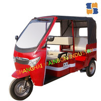 Newest luxury electric 3 wheeler tricycles for passenger, 60V 1100w tricycle