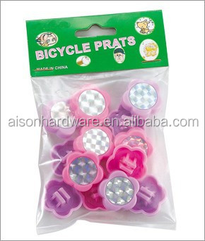 Kids Colored bicycle wheel beads Bike Promotion accessories