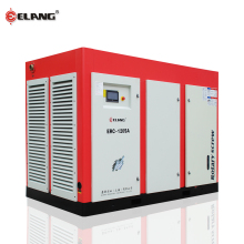 ELANG Two-stages Compressed Big Construction Site Screw Air Compressor