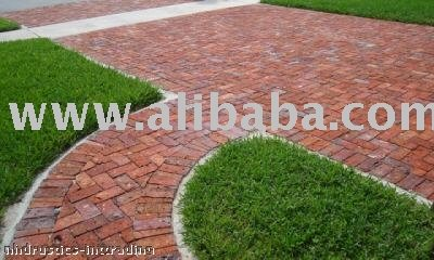 Brick Paver Clay Terracotta Driveway Old Chicago Pavers