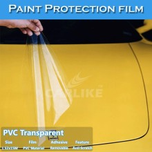 CARLIKE Transparent Adhesive Vinyl Sticker Roll Car Wrap Protective Film