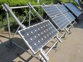 solar PV System ground mounting brackets aluminium and glavanized steel with high efficiency