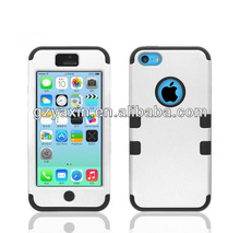 strong cell phone case for iphone 5c robot without stand case cover