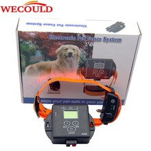 2016 Hot Sale Waterproof Electric Fence Dog Collar , Electronic In-Ground Wireless Pet Dog Fence System