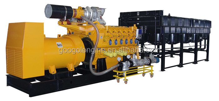 2MW CNG Biogas Natural Gas Generator