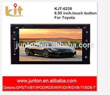 automoblie backup camera support HD screen android 4.2 universal 2 din car radio dvd gps
