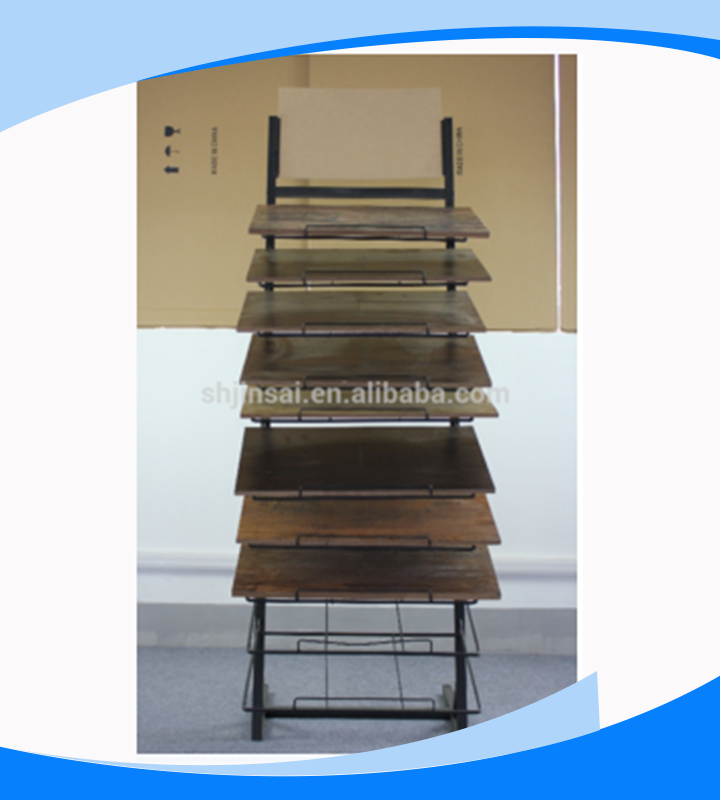 High Quality Metal Floor Display Stand for Grand Tile