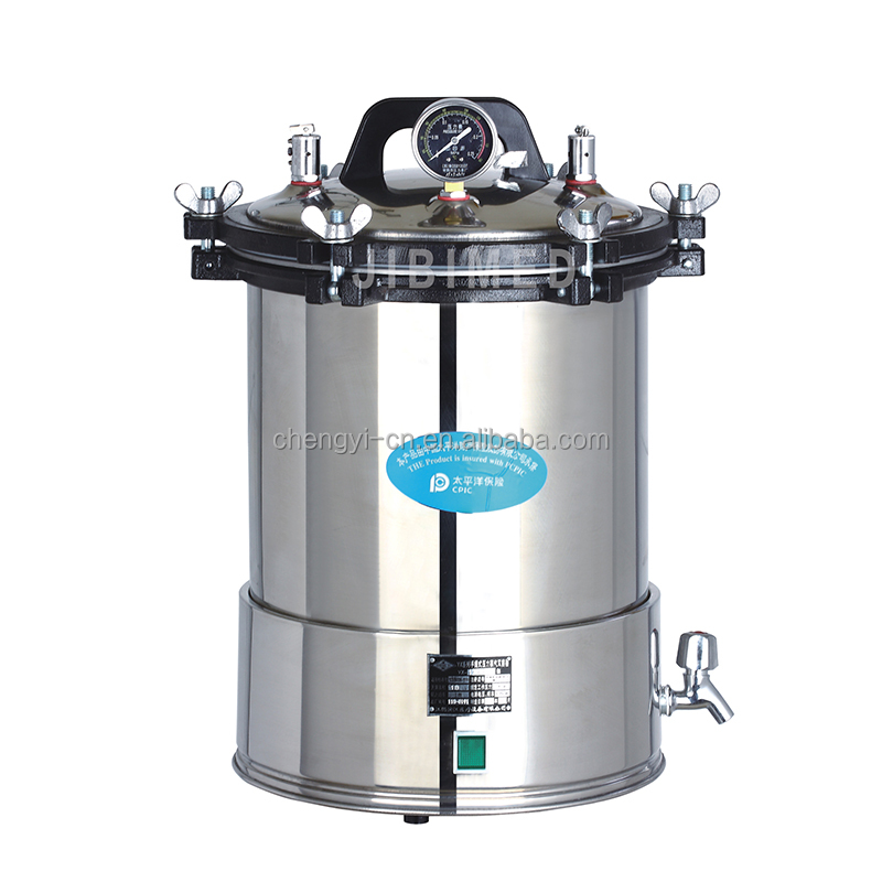 24L Portable Pressure Steam Sterilizer with good price Pressure cooker autoclave YX-24LD