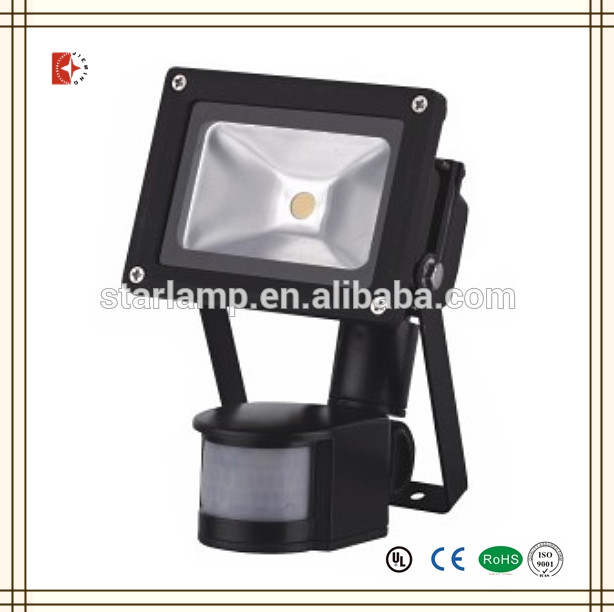 10w outdoor ground led flood light motion sensor