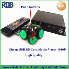 RDB Cheap USB SD Card Media player 1080P with High Quality DS005-31