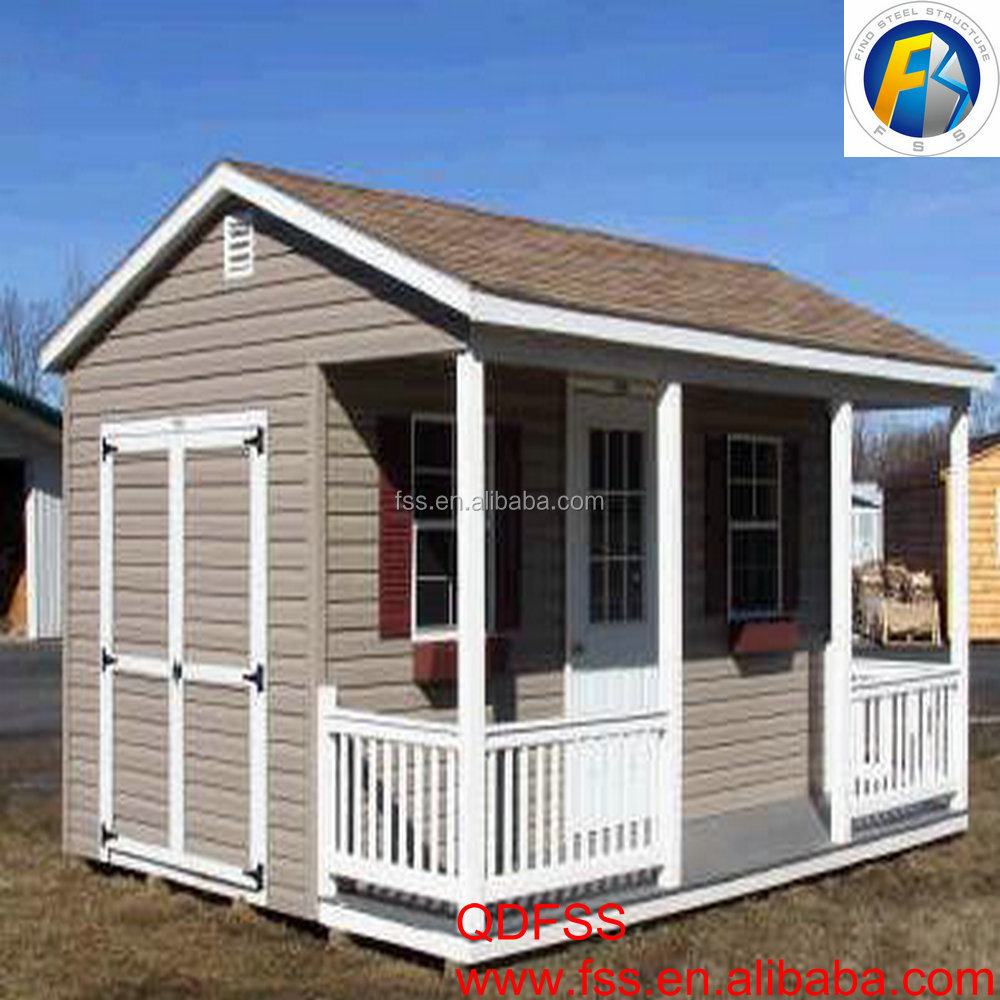 Cheap Prefab homes shed wood